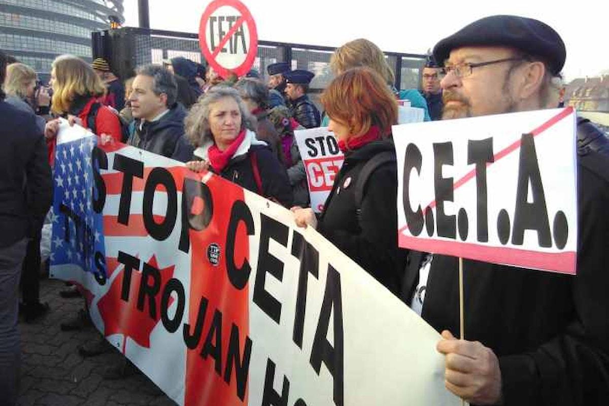 Il Parlamento europeo approva il CETA che entrerà in vigore già da aprile