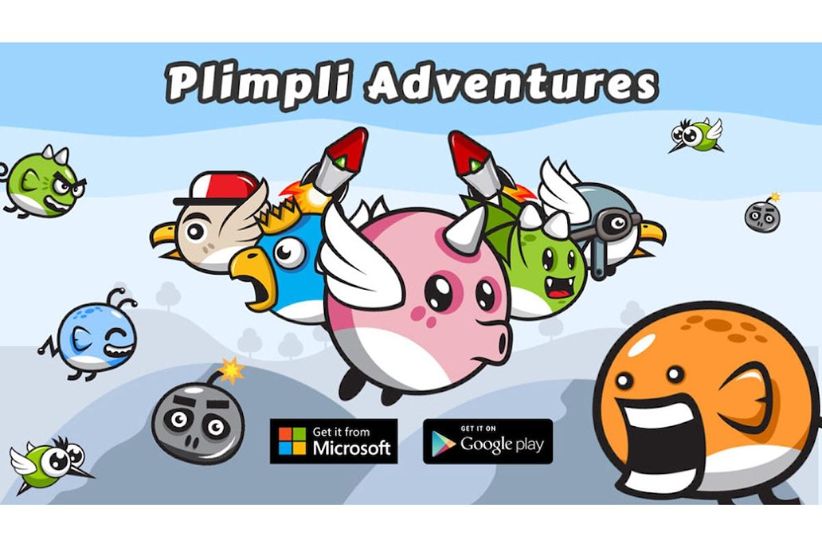 Plimpli Adventures: il gioco 2D GRATUITO disponibile per Windows 10, Windows 10 mobile e Android
