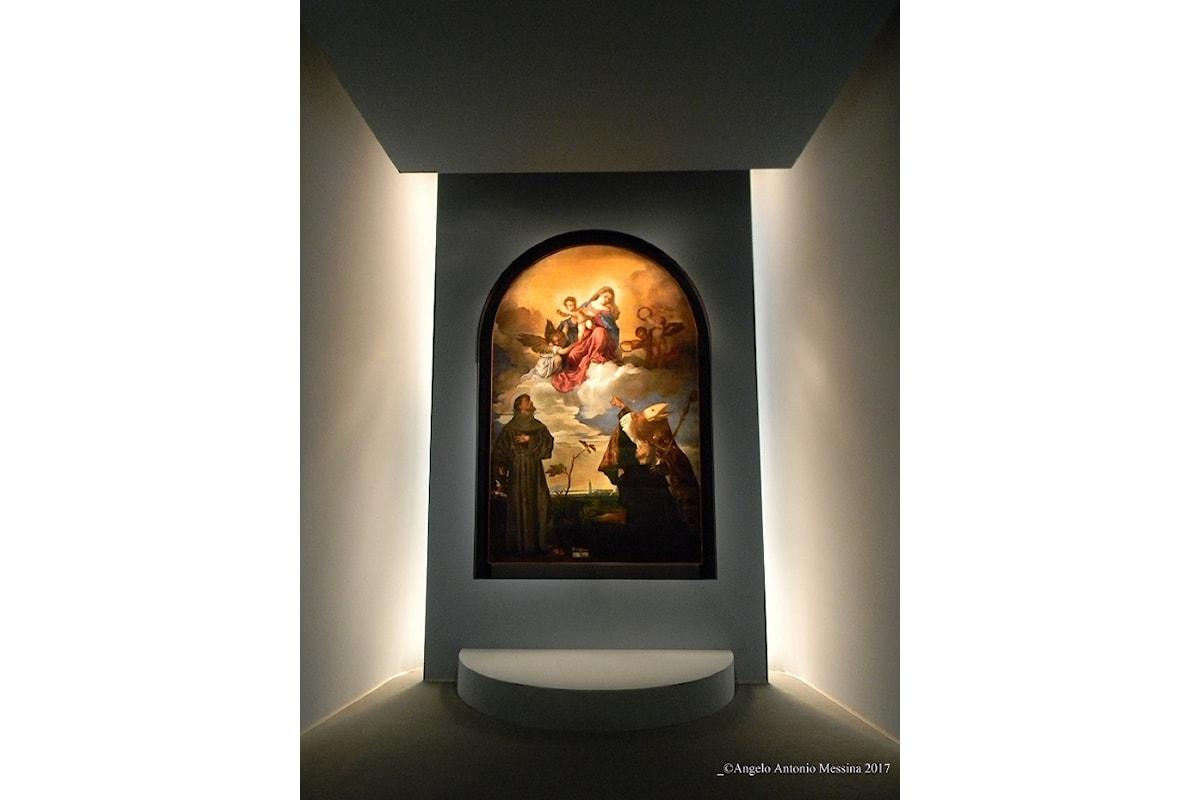 Tiziano: Sacra Conversazione a Palazzo Marino, Milano. Fino al 14 gennaio 2018