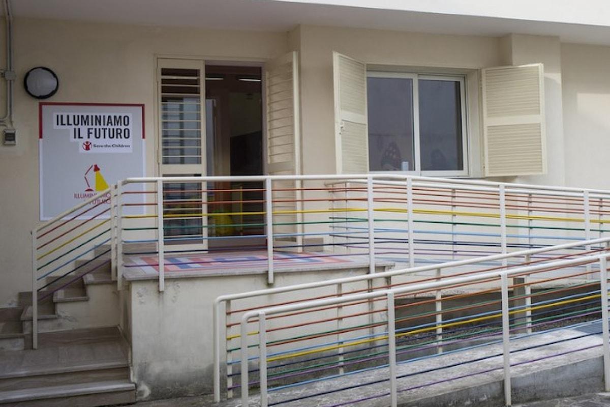 In un bene confiscato alla camorra Save the Children apre un centro per combattere povertà educativa e dare sostegno ai genitori