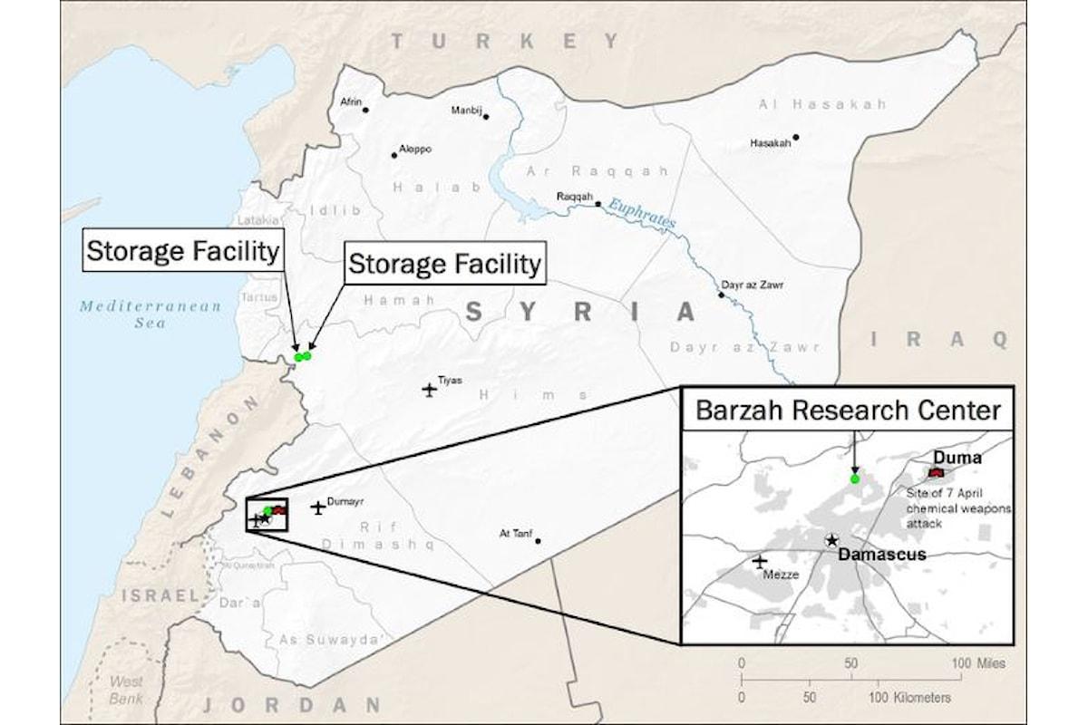 L'attacco in Siria... fortunatamente una messinscena