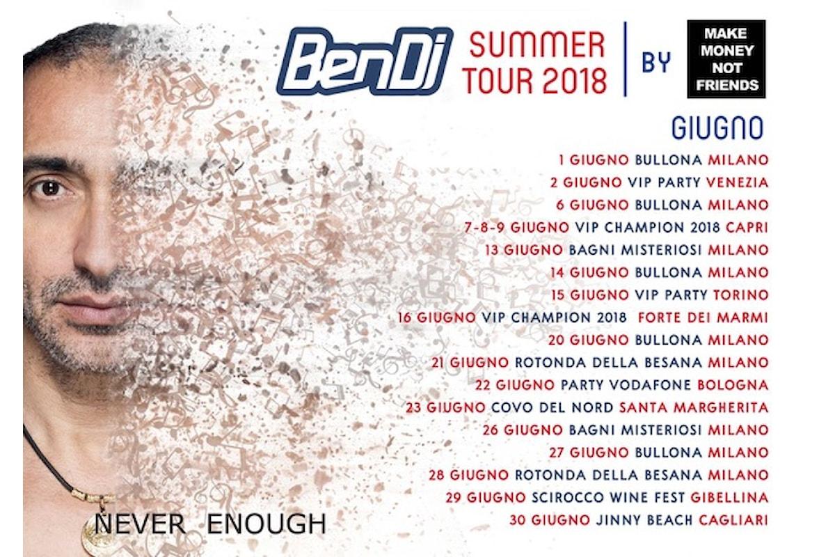 Ben Dj non si ferma mai - A giugno '18 fa ballare Bullona, Rotonda della Besana e Bagni Misteriosi a Milano e tanti VIP party tra Venezia, Capri, Forte dei Marmi...