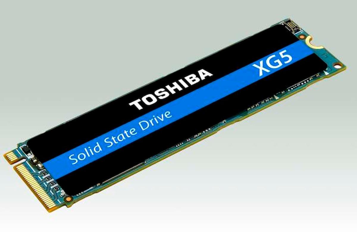 Toshiba presenta la nuova Serie XG5 di SSD con capacità fino a 1TB