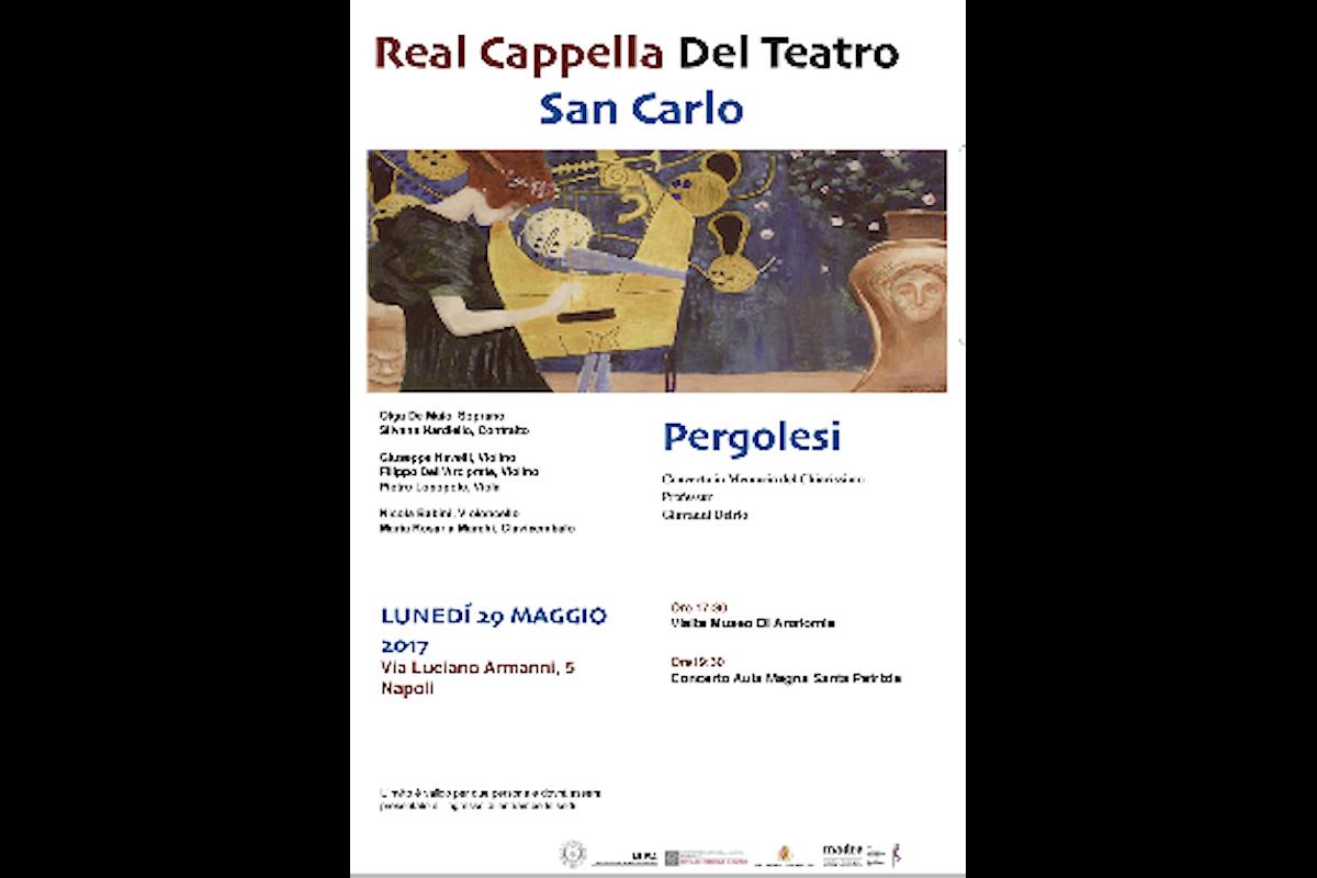 La Real Cappella del Teatro San Carlo  esegue Pergolesi, Jommelli e Leopold Mozart