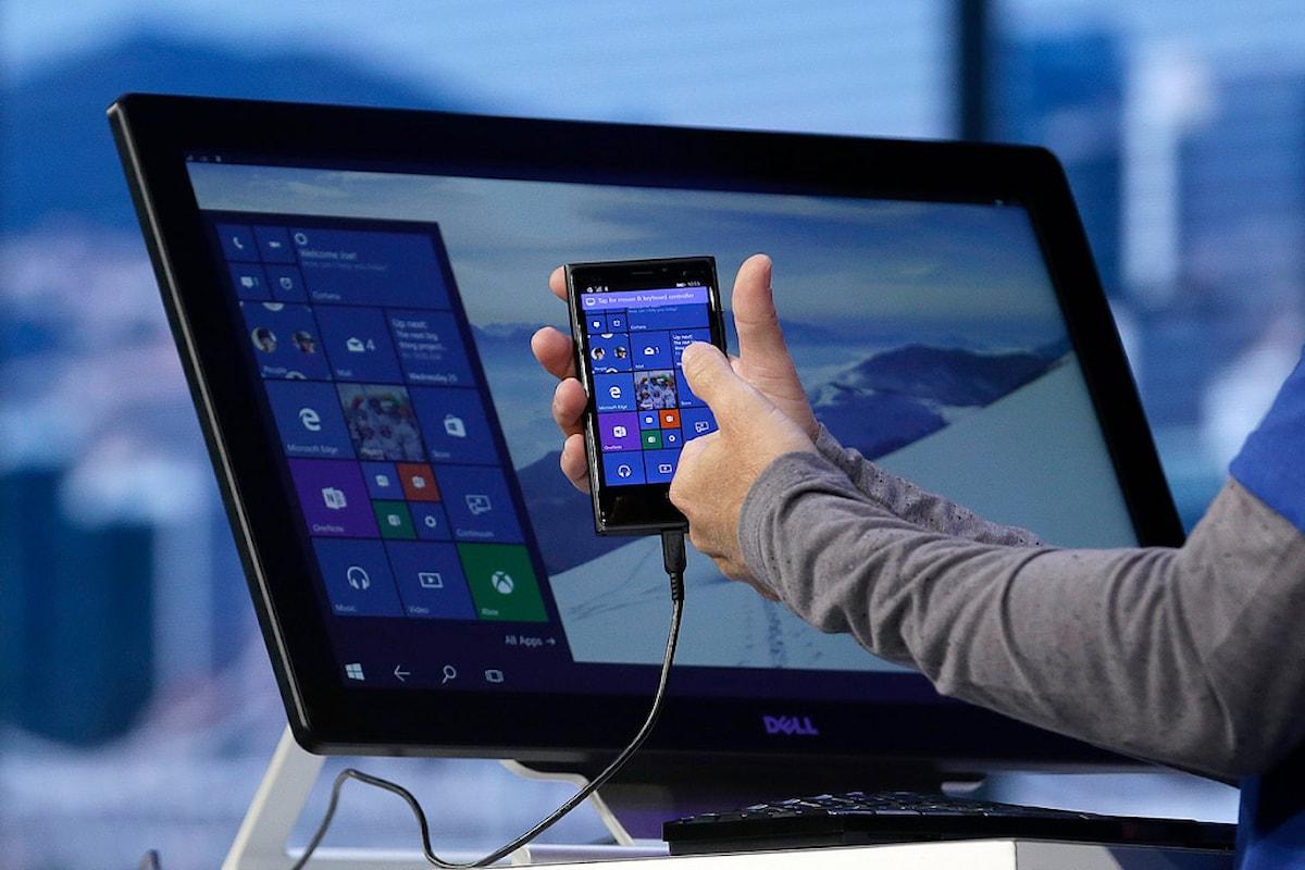 Continuum: il progetto di Microsoft   Surface Phone Italia