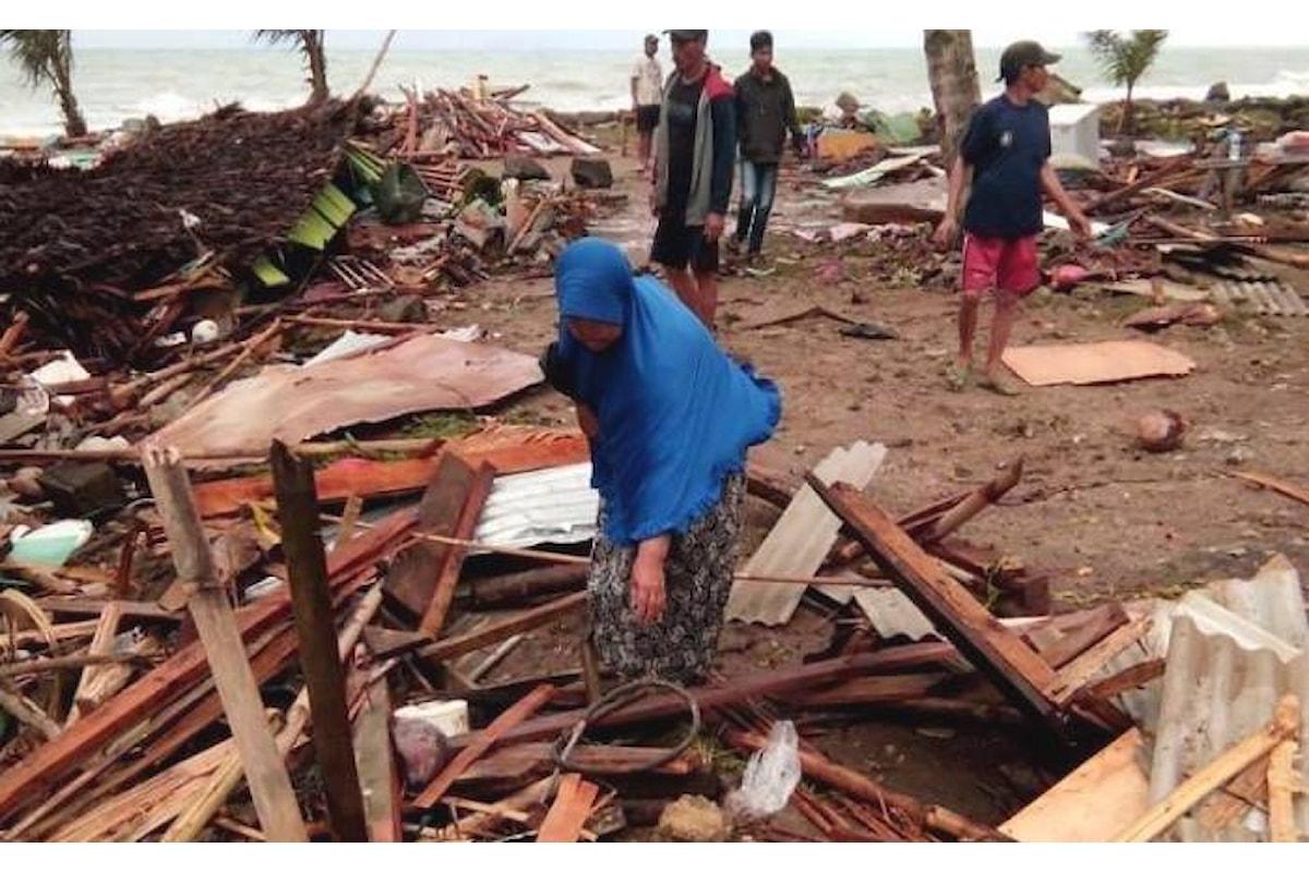 Il cordoglio di Papa Francesco per lo tsunami che ha provocato numerose vittime in Indonesia presso lo stretto di Sonda