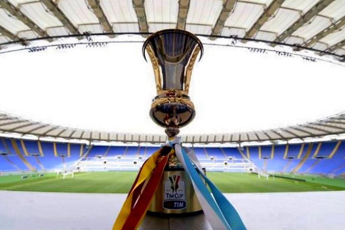 Da martedì iniziano gli incontri dei quarti di Coppa Italia