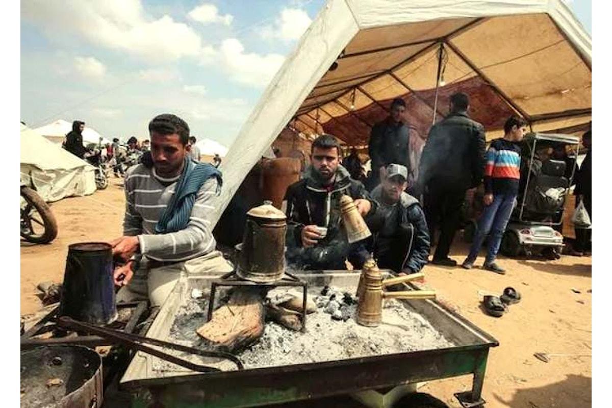 4 maggio, continuano le proteste a Gaza mentre Abu Mazen viene confermato capo dello Stato di Palestina
