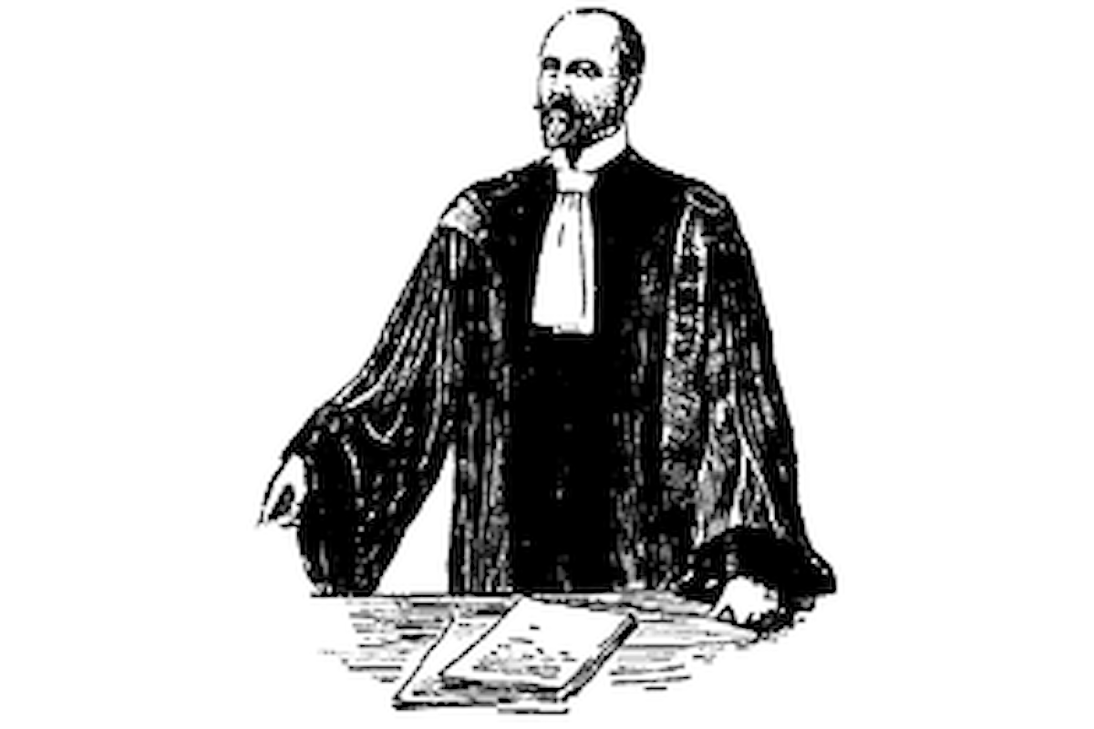 Del bon ton nelle aule giudiziarie
