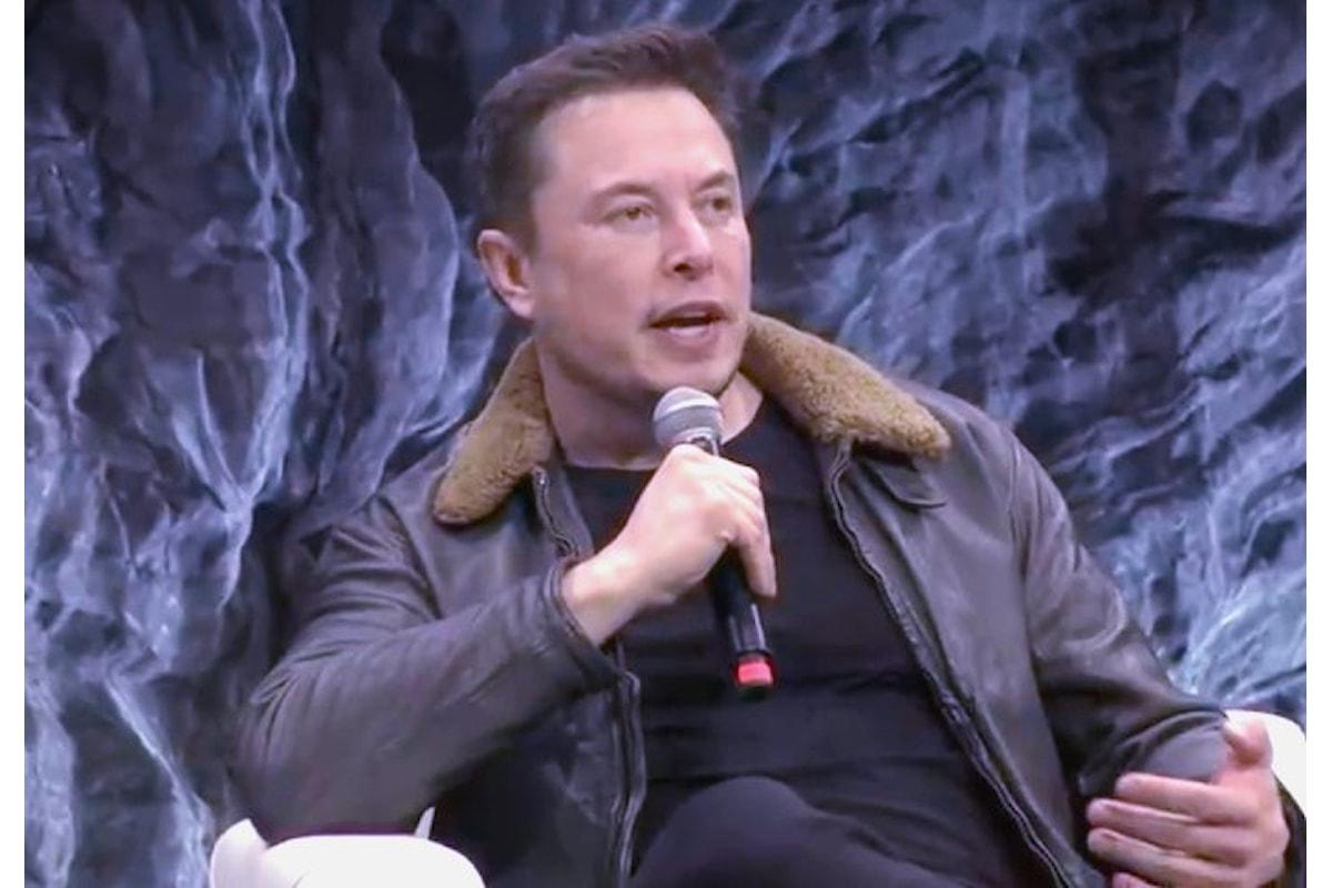 Musk ha annunciato già dal prossimo anno i primi test per la nave destinata ai viaggi su Marte