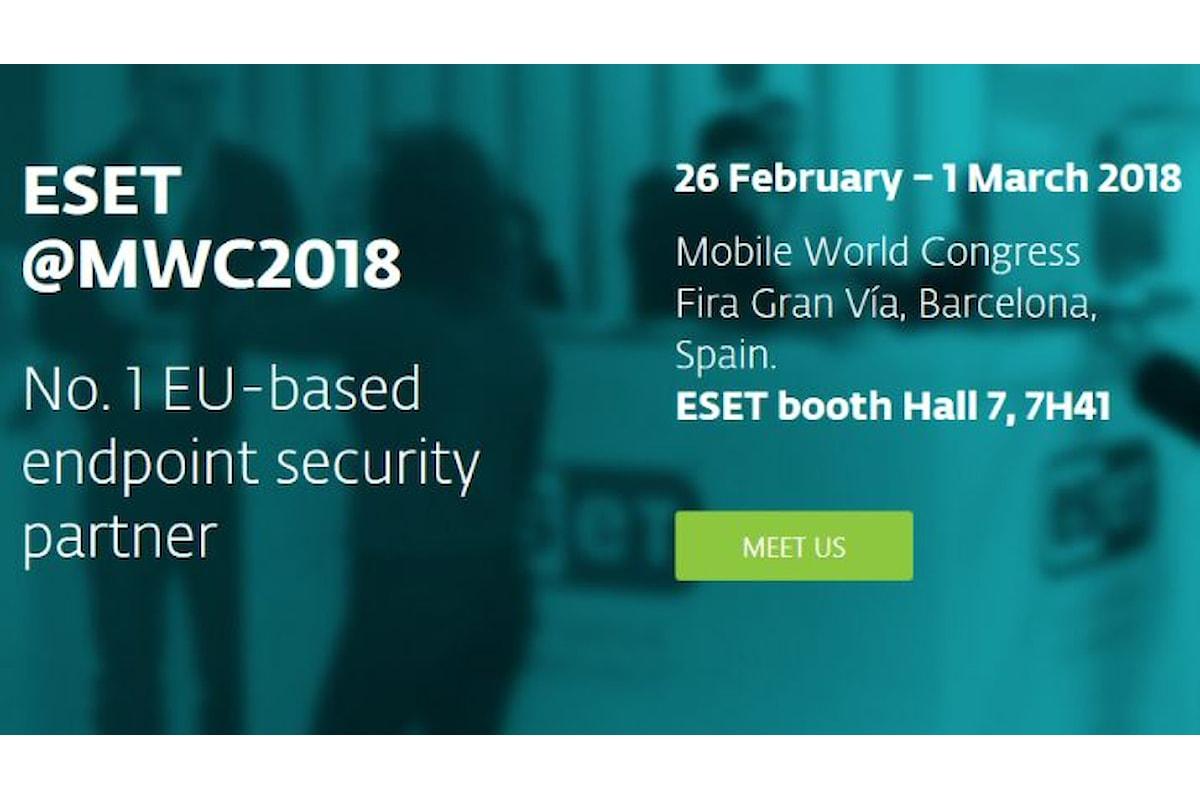 ESET al Mobile World Congress 2018