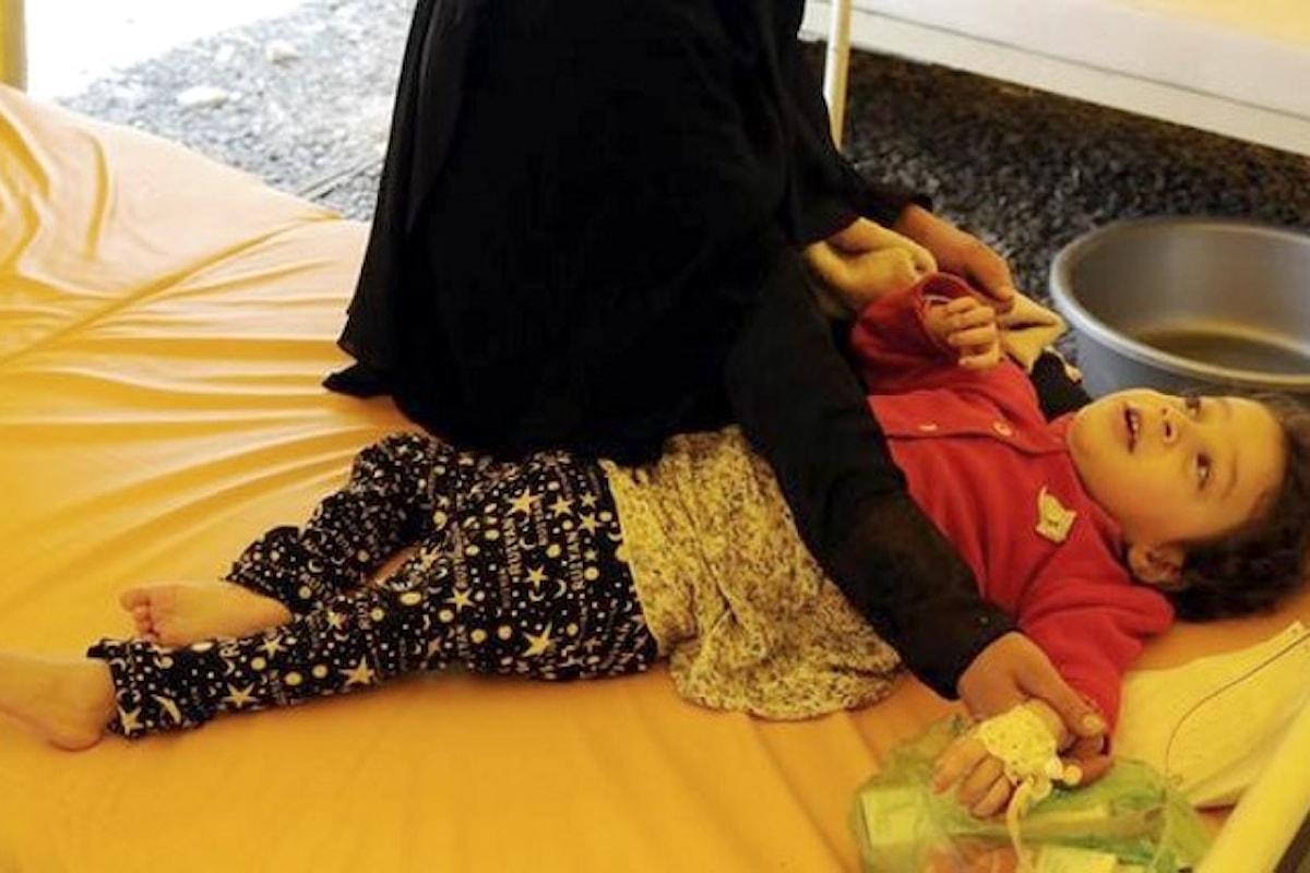 Gli ultimi aggiornamenti dall'Unicef sull'epidemia di colera in Yemen