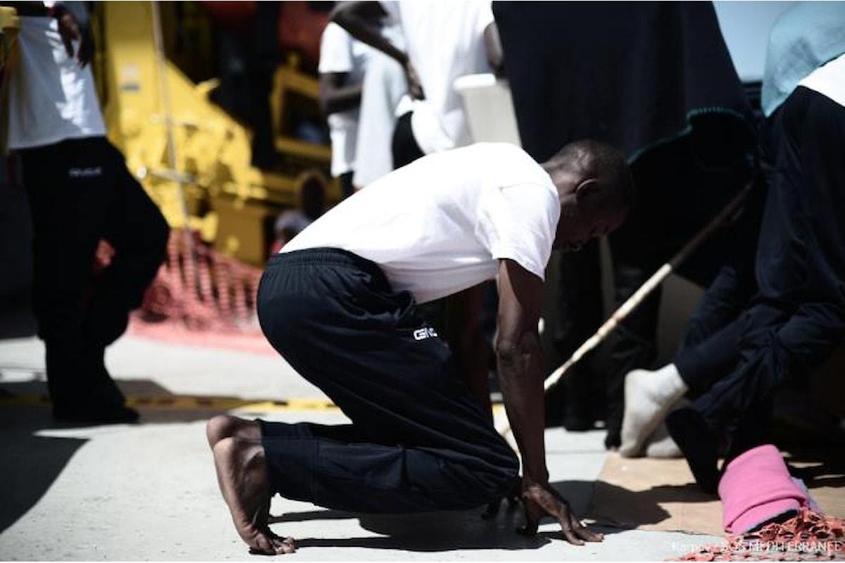 Aquarius, non ancora avviate le operazioni per far arrivare i migranti a Valencia