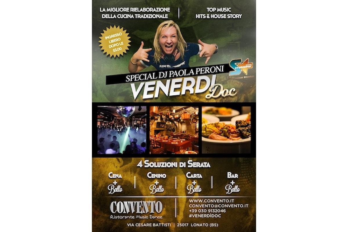 Paola Peroni fa ballare, Venerdì DOC al Convento di Lonato del Garda (BS)