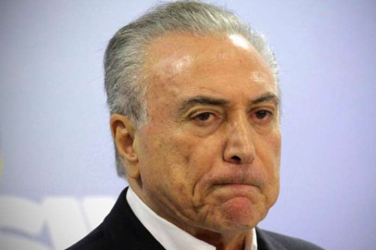 Anche in Brasile scontri e violenze per chiedere le dimissioni del presidente Temer