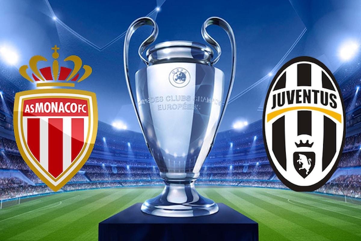 Dove vedere Monaco-Juventus di Champions League