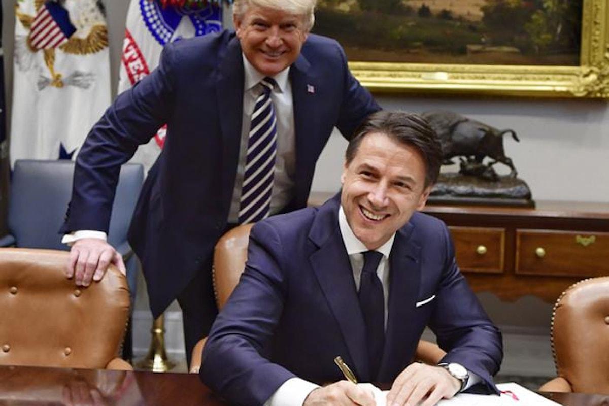 Donald Trump, un supporter del governo del cambiamento