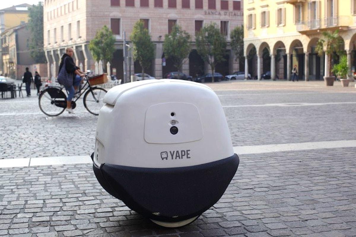 YAPE, il fattorino su ruote di e-novia in fase di test nelle vie di Cremona