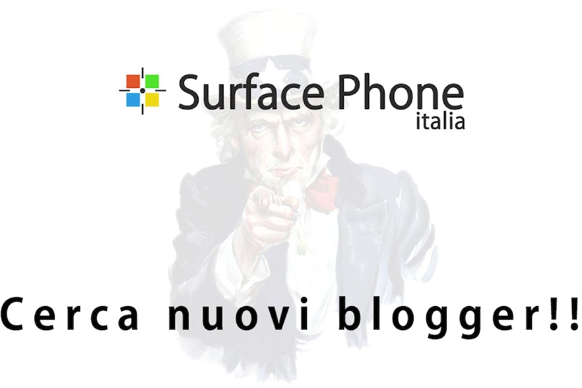 Surface Phone Italia ricerca nuovi blogger per espandere il proprio servizio