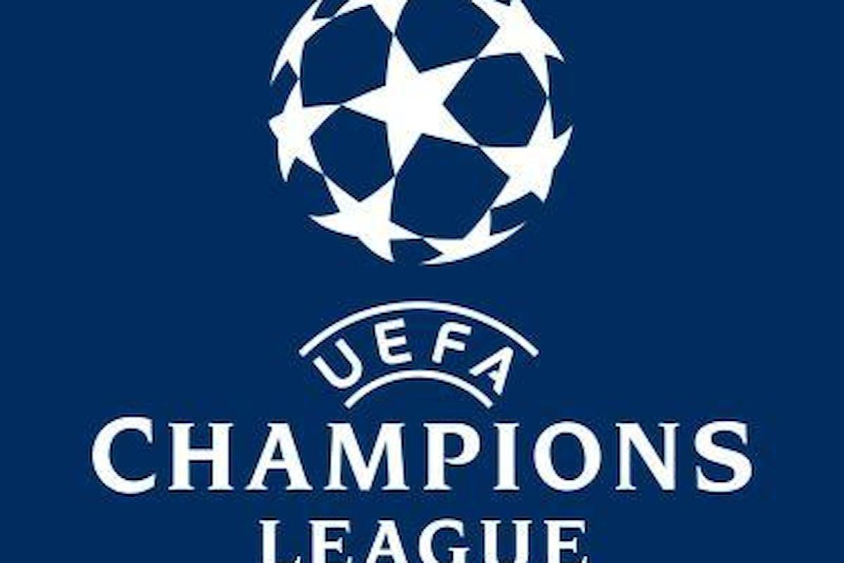 Il calendario delle partite di Champions League di martedì 26 settembre