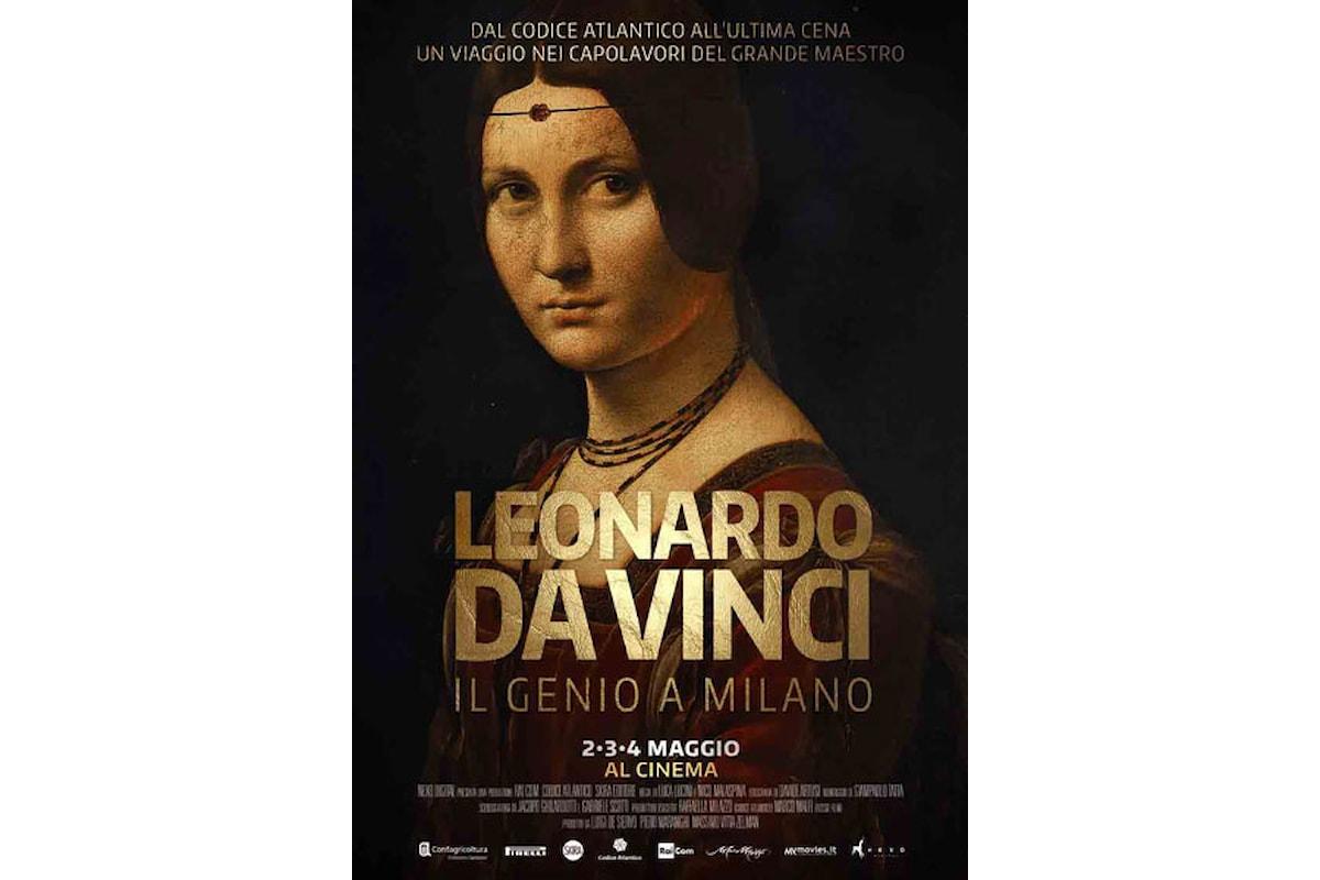 La grande arte torna al cinema: LEONARDO DA VINCI IL GENIO A MILANO