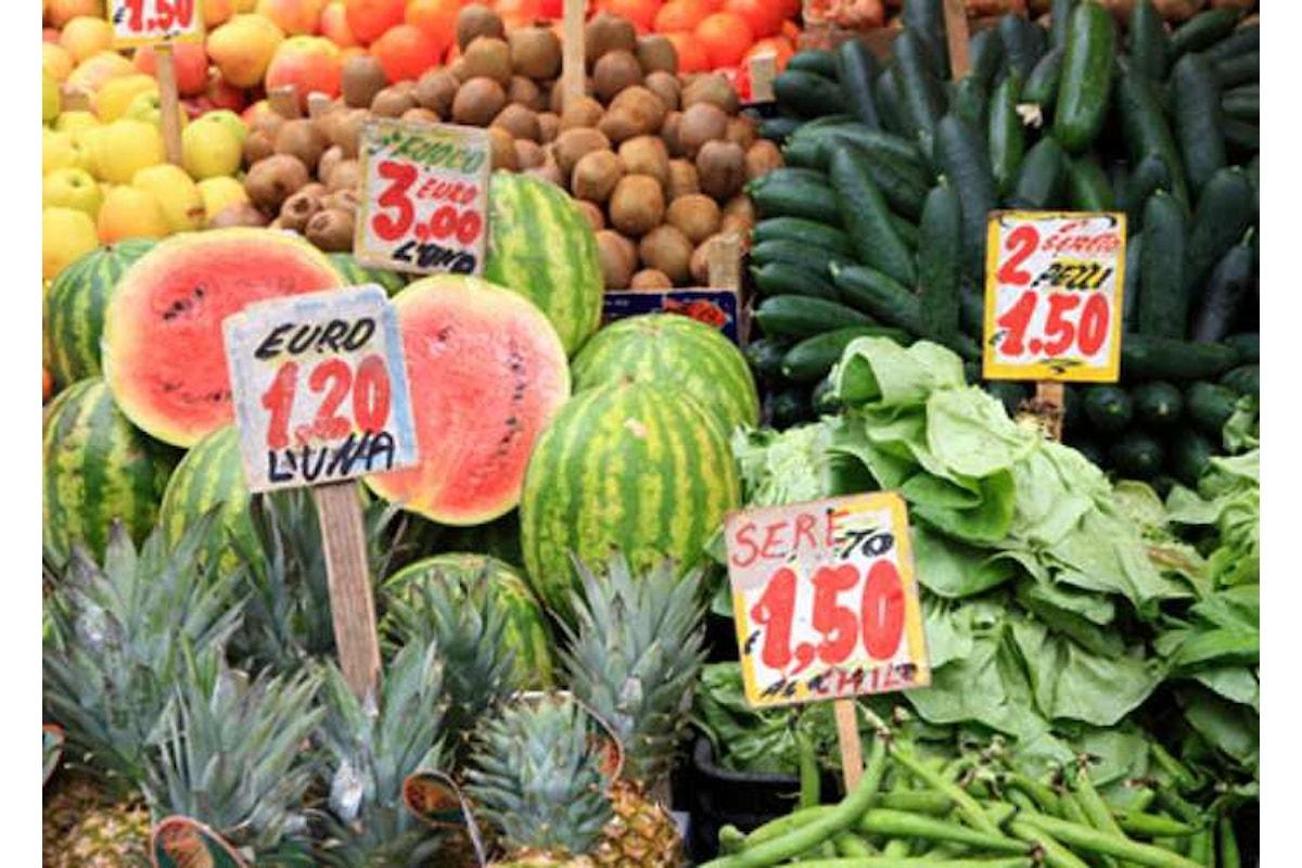 Istat, continua a diminuire l'indice prezzi al consumo anche a giugno 2017