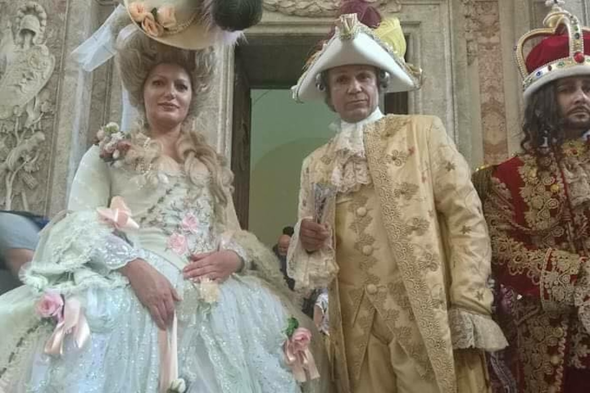 Alla Reggia di Caserta con la  Merienda Real rivive un pezzo di storia dei Borbone