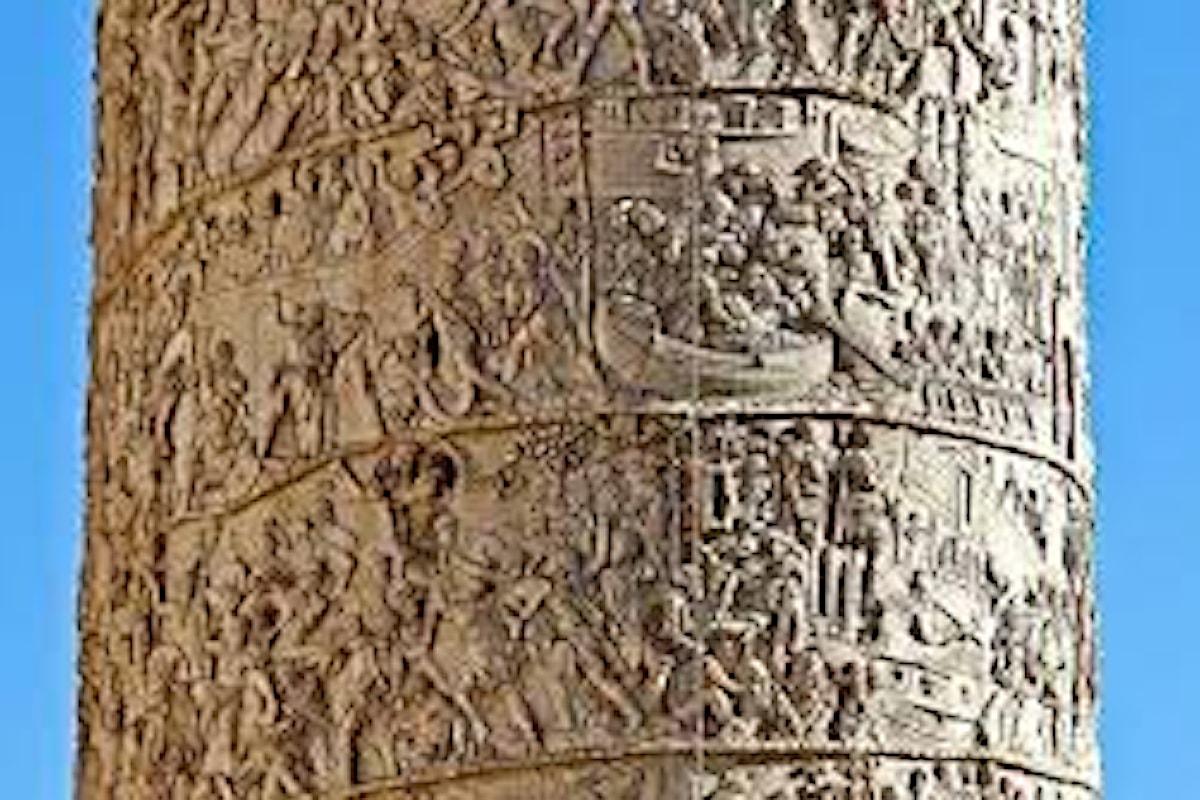 La Colonna Traiana, un monumento per celebrare la conquista della Dacia da parte di Roma