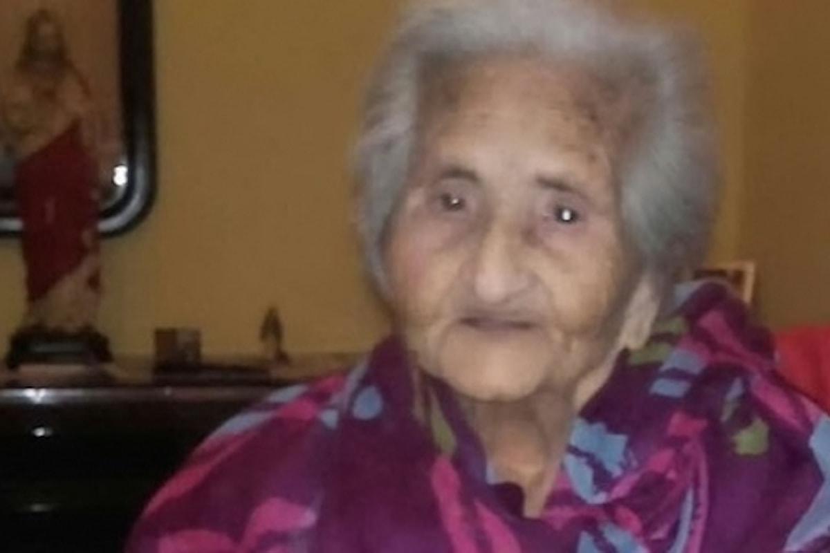 Muore Maria Concetta Caredda, aveva quasi 104 anni