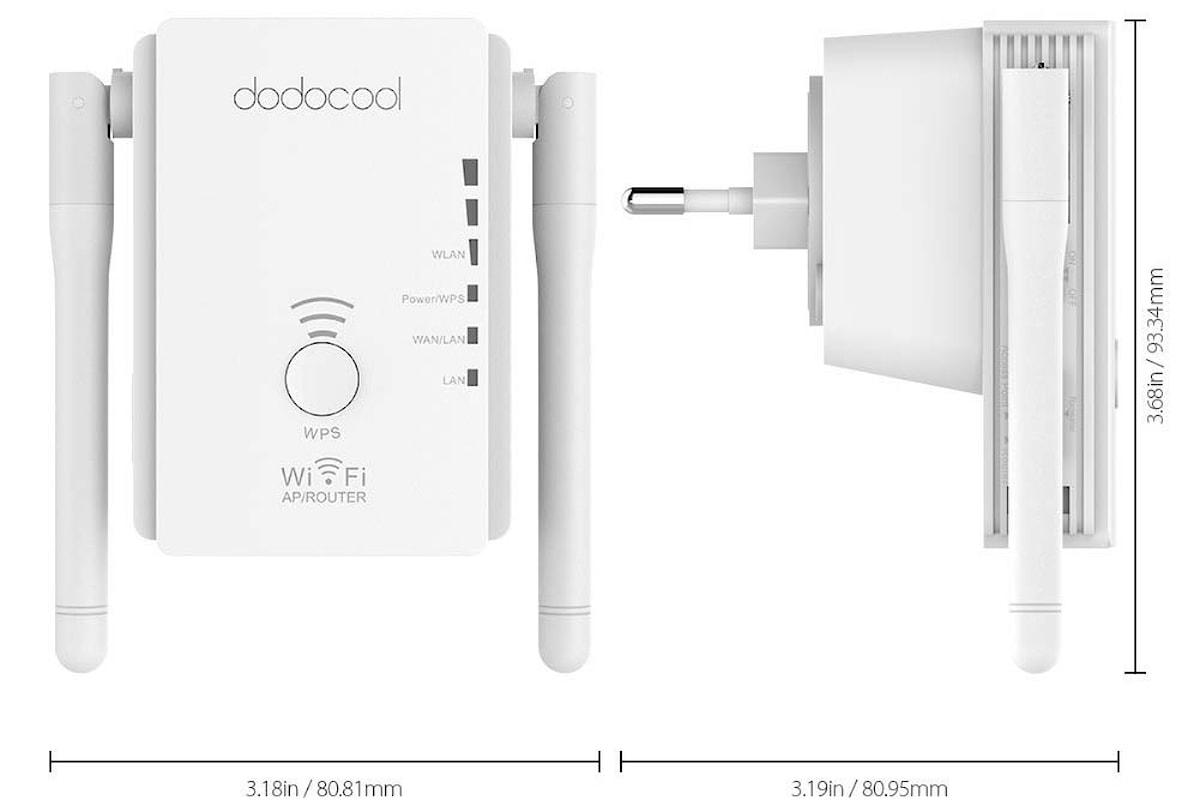 Router, Access point e ripetitore wi-fi dodocool. Recensione