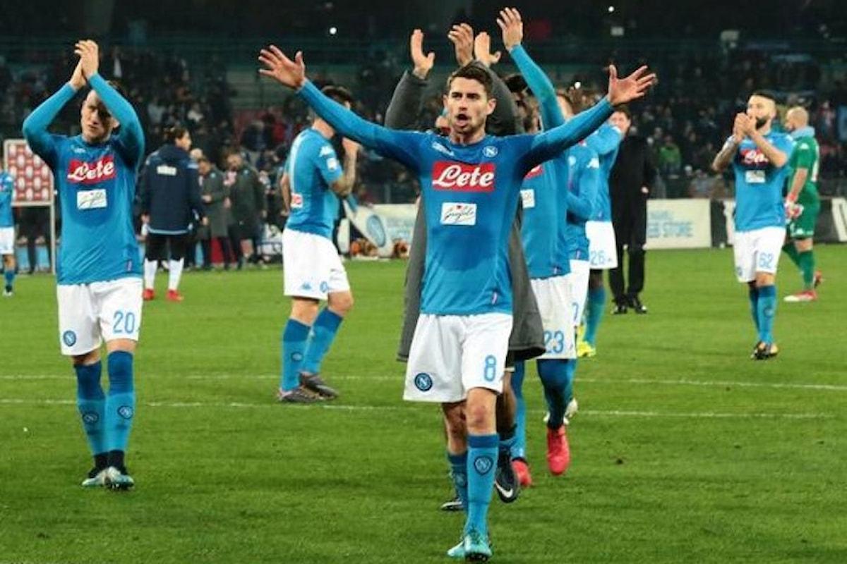 Il Napoli vince 4-1 e fa parlare di crisi in casa Lazio