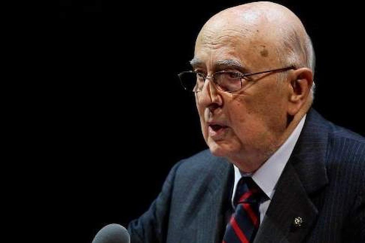Anche Napolitano ritiene inevitabile l'intervento in Libia