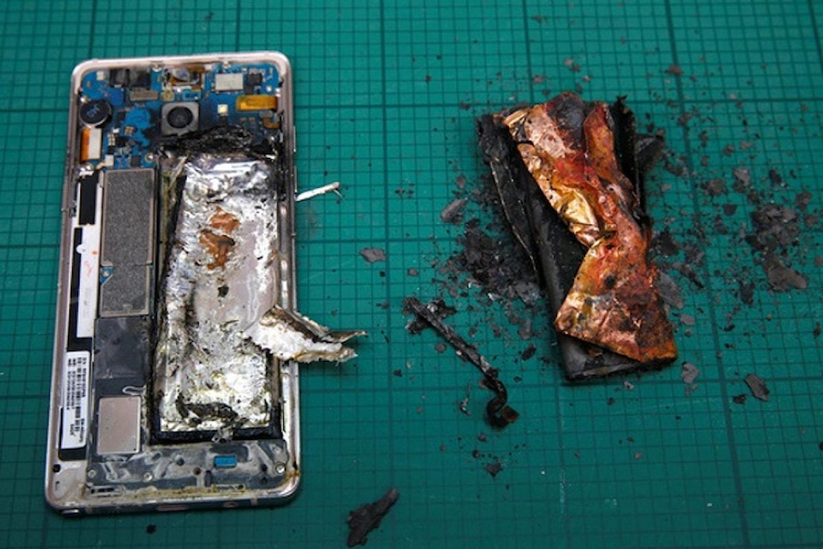 Samsung sospende la produzione del Galaxy Note 7