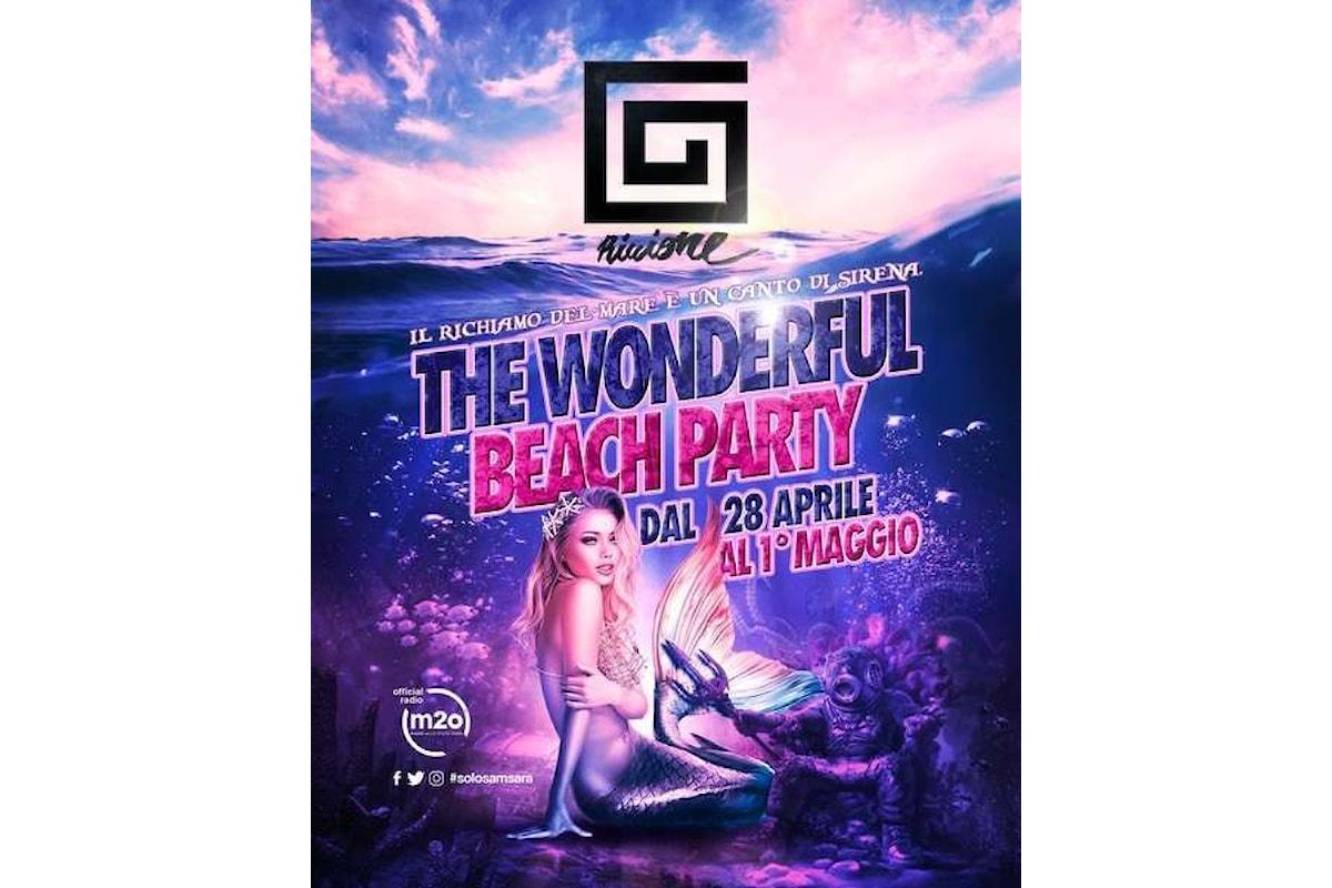 Samsara Beach - Riccione: Beach Party il 25 aprile e dal 28 aprile all'1 maggio