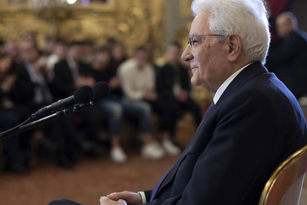 Il monito, indiretto, di Mattarella a Salvini e Di Maio