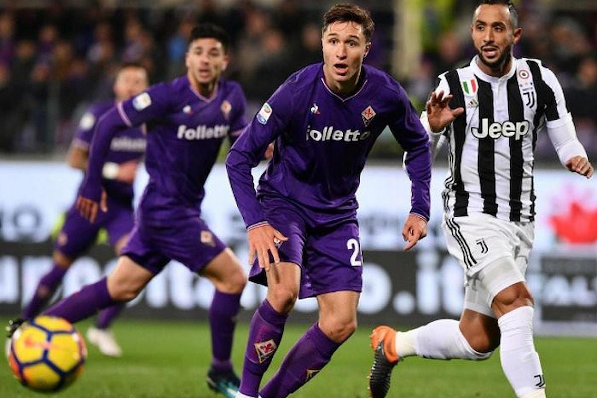 Gli incontri tra Fiorentina e Juventus e Roma e Inter il clou della 14.esima giornata di Serie A