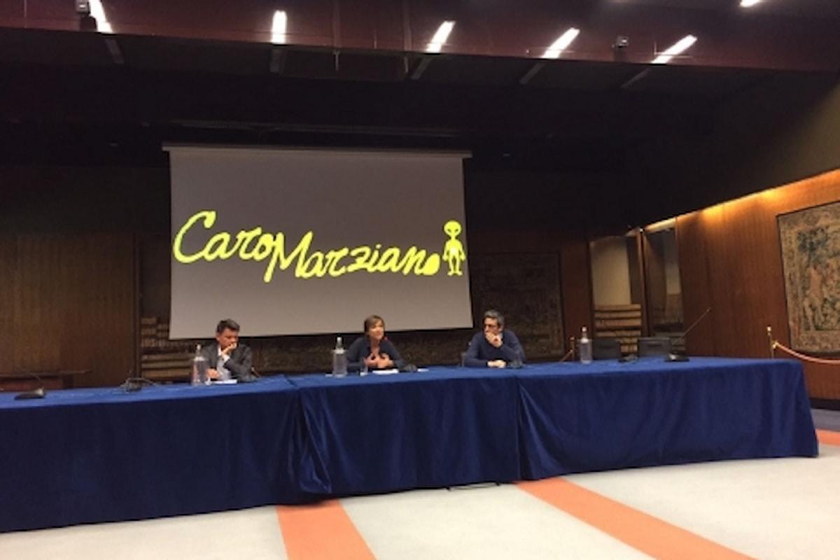CARO MARZIANO, con Pif le videolettere dal pianeta Terra. Dal 3 Maggio su Rai3 alle 20,35