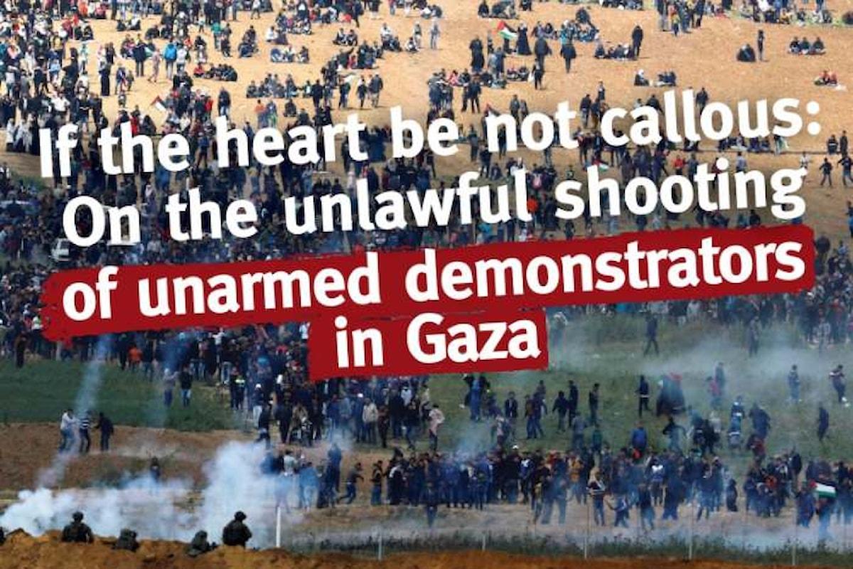 L'opinione di B'Tselem sui palestinesi uccisi a Gaza durante le manifestazioni per la Marcia del Ritorno