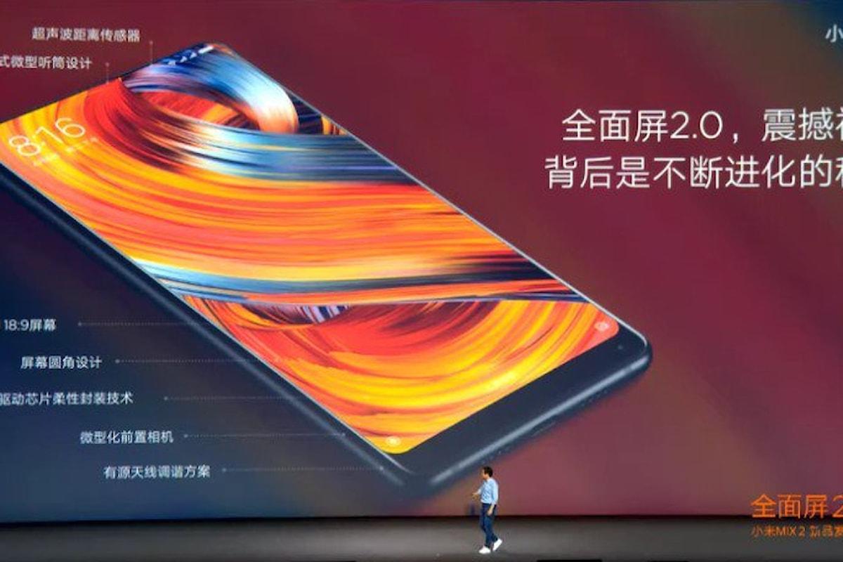 Xiaomi Mi Mix 2: Presentato il nuovo Smartphone Xiaomi