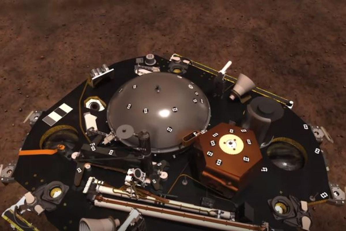 Le fasi dell'atterraggio su Marte della sonda InSight