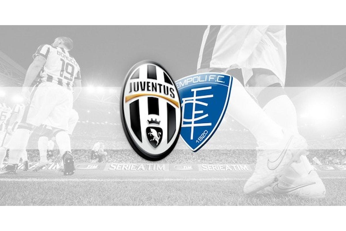 Allo J Stadium arriva l'Empoli: segui in diretta!
