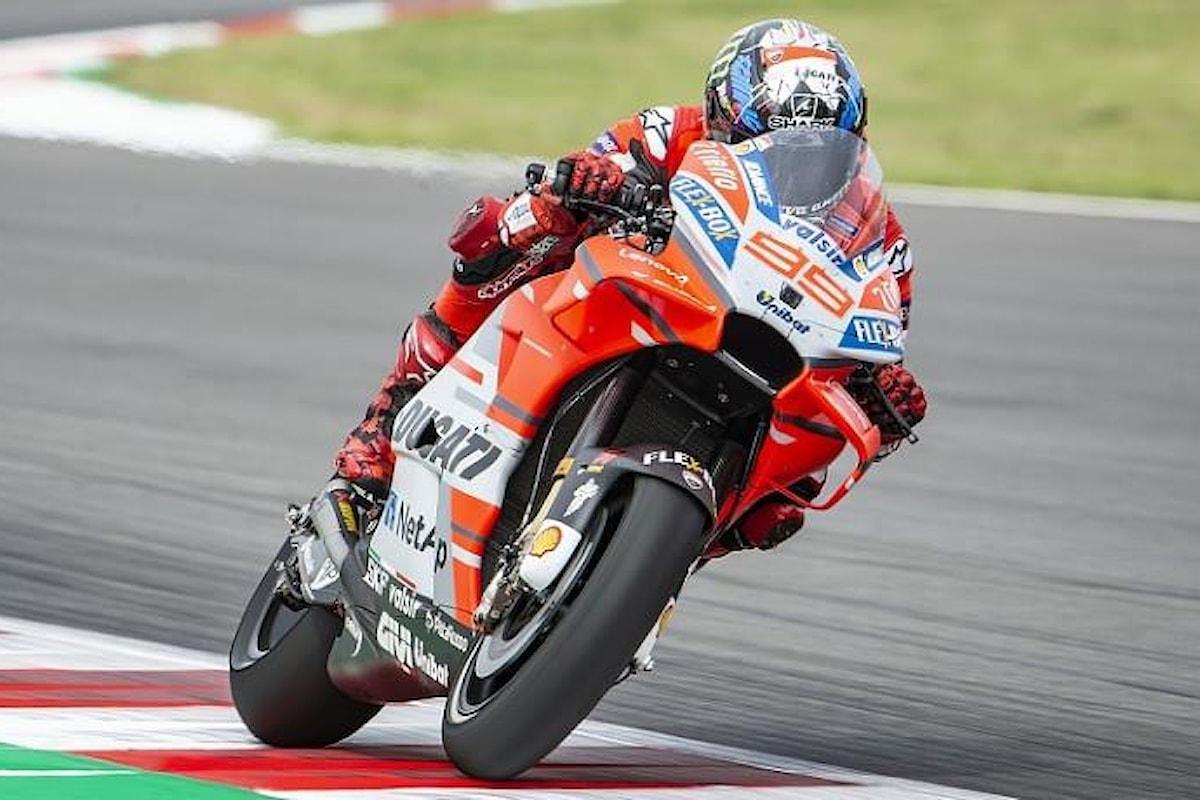 MotoGp 2018, Lorenzo vola anche nelle libere del GP della Catalogna