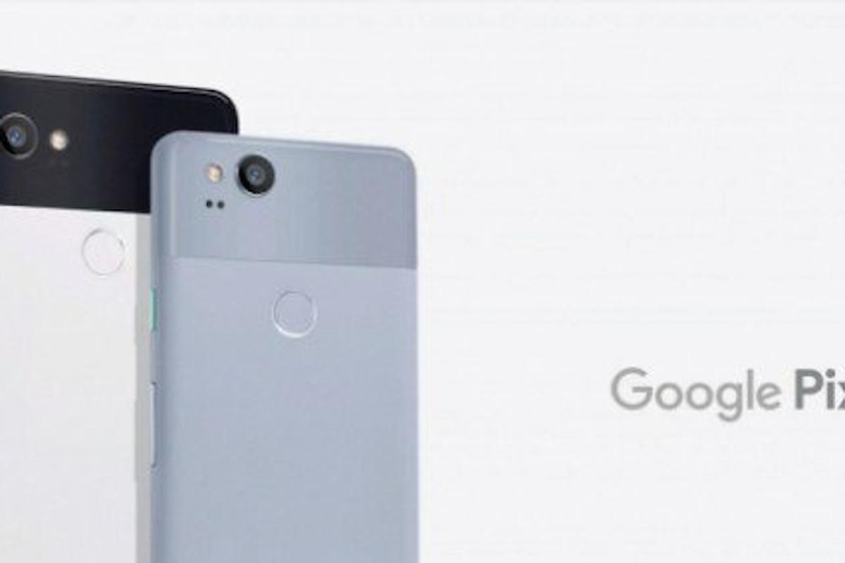 Google Pixel 2: piccoli bug per il nuovo smartphone