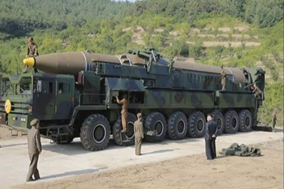 Venerdì la Corea del Nord ha spostato alcuni dei suoi missili. Imminente un nuovo lancio?