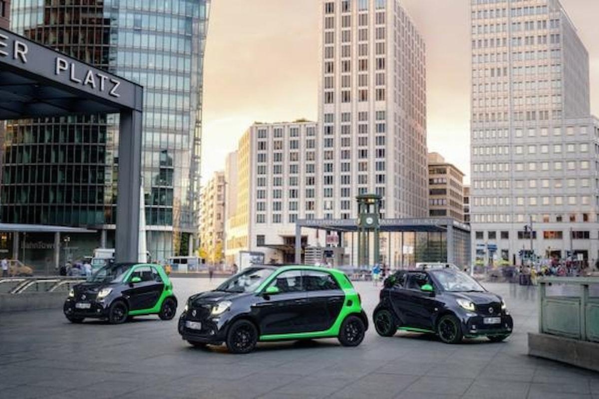 Nuove vetture a zero emissioni 2017