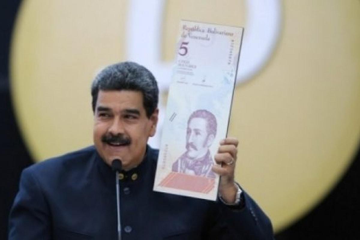 Monete, il nuovo Bolivar di Maduro non convince i mercati
