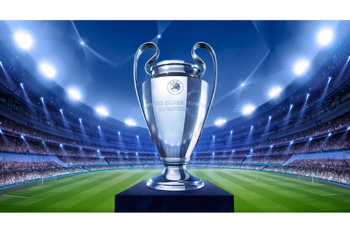 Champions League, le partite in programma martedì 31 ottobre