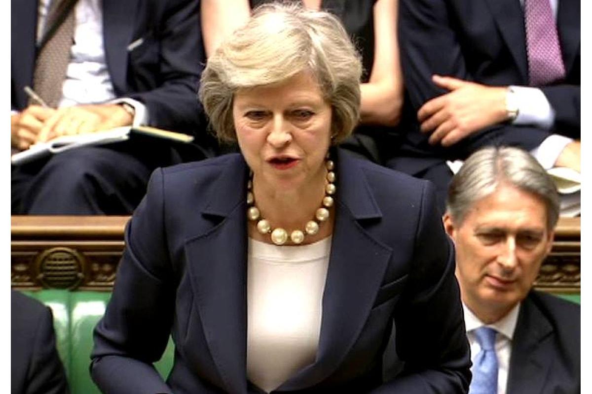 Corte di Giustizia Europea: fino al 29 marzo 2019 la Gran Bretagna può cambiare parere sulla Brexit e rimanere in Europa. La May rimanda il voto in Parlamento