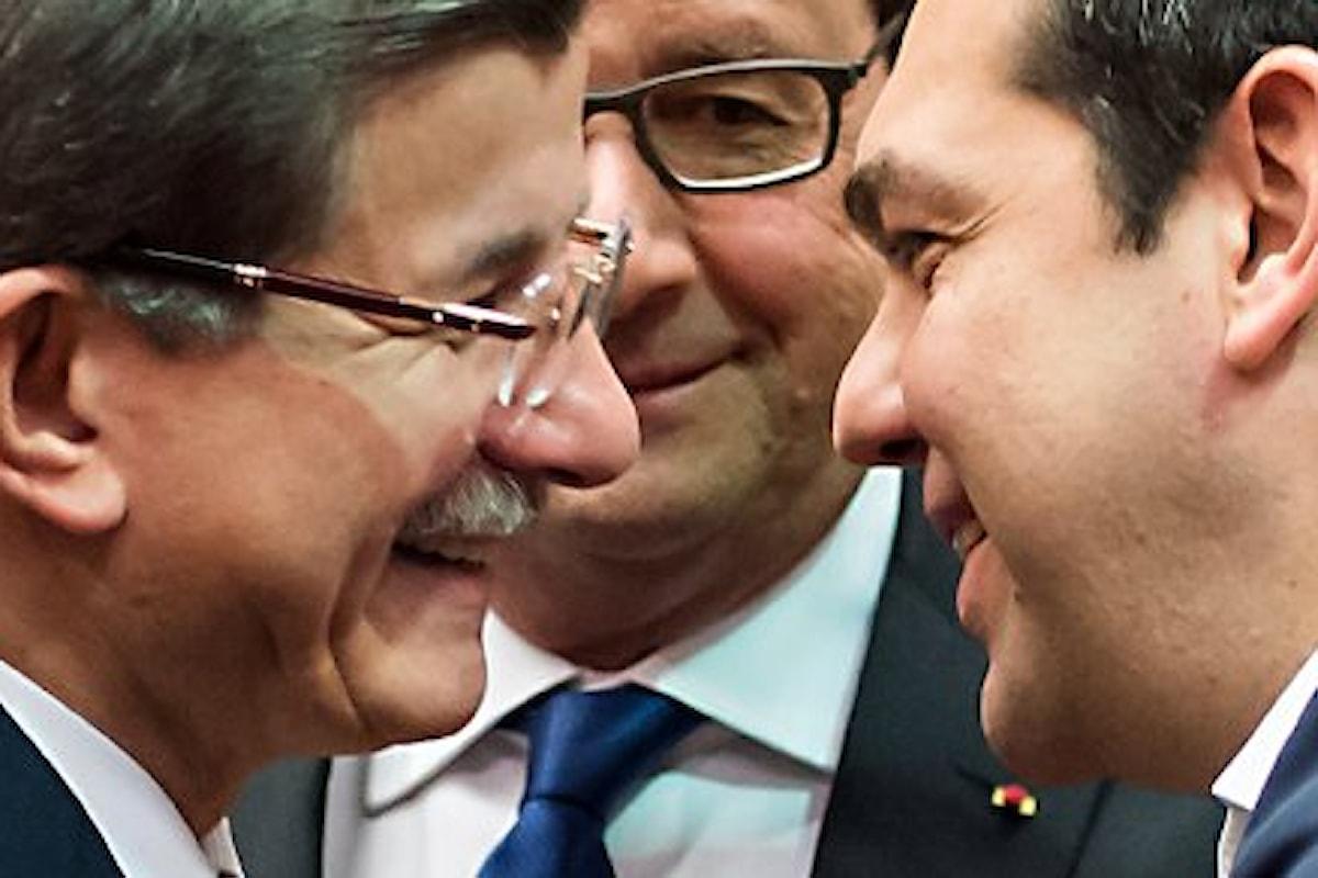 Un accordo di cui non esser fieri quello fra UE e Turchia