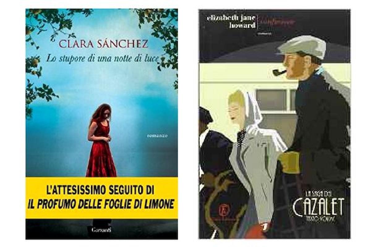Libri novità al 19 settembre. Da Clara Sanchez a Susanna Tamaro